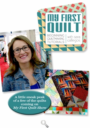 My First Quilt with Sara Gallegos