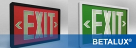 "<b>BETALUX </b></br><u><font color =""blue""> Self-Luminous Exit Signs</font><u>"