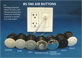 Better Switch BS500 Round Air Button & in Wall Air Switch