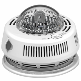 BRK 7010BSL 120V AC/DC Photo Smoke Alarm with Integrated Strobe (3-Pack)
