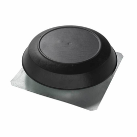 Broan 350BK Attic Ventilator, Black Dome, 1050 CFM