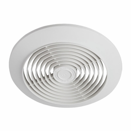 "Broan 673 6"" 60 CFM Ceiling Ventilation Fan, White Plastic Grille"
