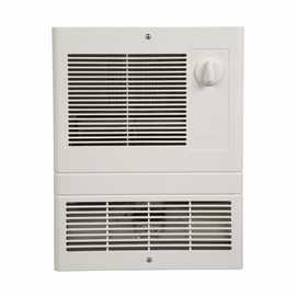 Broan 9815WH Wall Heater, High-Capacity, 1500W Heater, White Grille, 120/240V