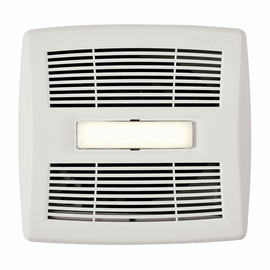 Broan AE110SL InVent� Series 110 CFM, 1.0 Sones Humidity Sensing Fan with LED Light, ENERGY STAR