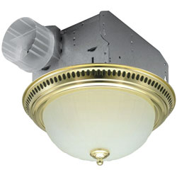 BROAN DECORATIVE EXHAUST FAN & LIGHTS