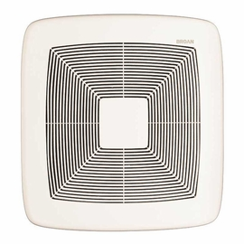 Broan QTXE080 Very Quiet Bath Fan, White Grille, 80 CFM, ENERGY STAR� Certified