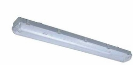 "Cyber Tech C48232VP-LED C48232VP 48"" Retrofited Vapor Tight FiCYBERTECHture w/ 2 - 19.7W T-8 LED Lamps 120-277V"