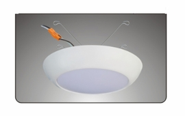 """Cyber Tech LC20RT6-Disk/WW 4"""", 5"""", 6"""" Surface LED Downlight"""