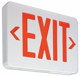 Day-Brite VE Emergency Led Exit Sign Thermoplastic