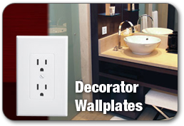 TAYMAC DECORATOR WALLPLATES