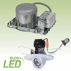 "Elco 5"" LED Downlights & Slope/Retrofit Kit"