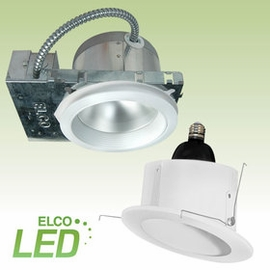 "Elco 6"" LED Downlights & Slope/ Retrofit Kit"