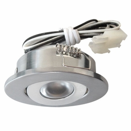 ELCO E341N Mini LED Recessed Undercabinet Light Kit, 1W