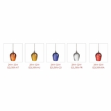 Elco Lighting EDL52N-AT 13W-18W CFL Pendant EDL52N-AT