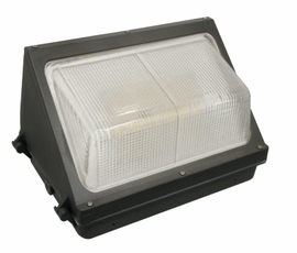 Envision LED-WPF-80W-50K/0-10V Wall Pack Full 120lm/w Bronze Finish