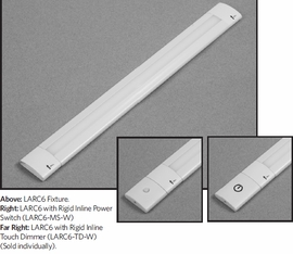GM Lighting LARC6  Dimmable LED Linear Lightbar 24Volt