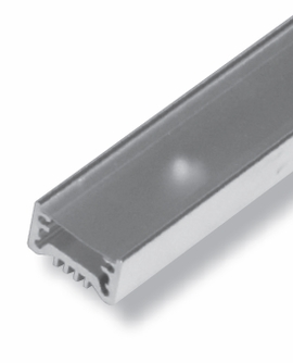 "GM LIGHTING LED-CHL 48"" Extruded channel. Includes snap-on frosted lens with mounting screws"