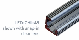 GM LIGHTING LED-CHL-CL-LENS Clear lens for LED-CHL-D, LED-CHL-45