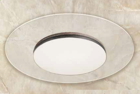 "GM Lighting SCT18-30-R-WH Round ClearTask LED Down & Uplight 18W,120V,3000K,1500Lum, 14-1/2"" Dia"
