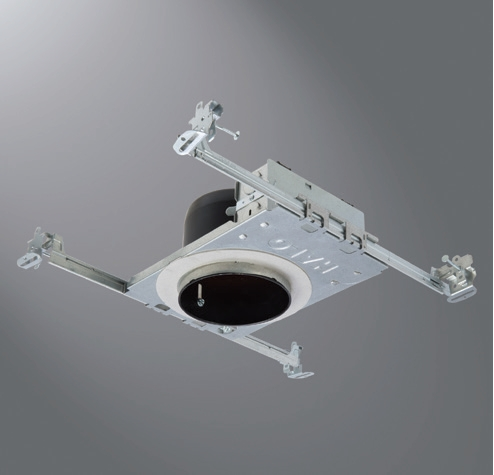 """HALO H245ICAT 4"""" Ultra-Shallow Recessed New Construction Housing"""