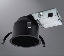"HALO H245RICAT 4"" Ultra-Shallow Recessed Remodel Housing"