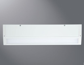 "HALO HU1018D927P 18"" LED Undercabinet Dimmable Fixture ,120V,90CRI,2700K,White"