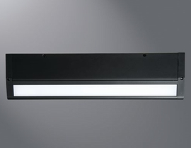 "HALO HU1018D930MB 18"" LED Undercabinet Dimmable Fixture ,120V,90CRI,3000K,Black)"