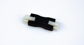 "HALO HU107MB 1-1/2"" Male-to-Male Connector,Black"