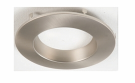 "HALO RL4TRM-SN  4"" Designer Trim Accessoryfor RL460 (Satin Nickel Trim)"