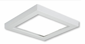 "HALO SMD4STRMWH 4"" Square White (Paintable) Trim For SMD Ser"