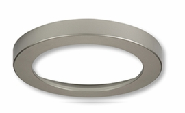 "HALO SMD6RTRMSN 6"" Round Satin Nickel Trim For SMD Ser"