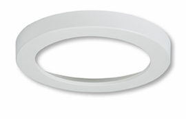 "HALO SMD6RTRMWH 6"" Round White (Paintable) Trim For SMD Ser"