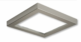 "HALO SMD6STTRMSN 6"" Square Satin Nickel Trim For SMD Ser"