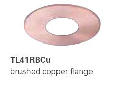HALO TL41RBCU 2� Round Pinhole  Brushed Copper  (Use with ML4 LED)
