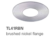 HALO TL41RBN 2� Round Pinhole Brushed Nickel  (Use with ML4 LED)