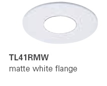HALO TL41RMW 2� Round Pinhole Matte White (Use with ML4 LED)