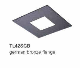 HALO TL42SGB 2�  Square Open German Bronze  (Use with ML4 LED)