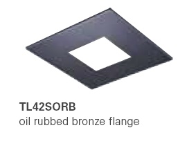 HALO TL42SORB 2� Square Open Oil Rubbed Bronze  (Use with ML4 LED)