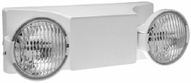 Hubbell EZ-2 Two Head Emergency Light
