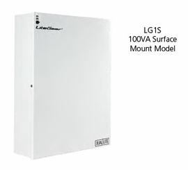 Hubbell LG1S Compact Central Lighting Inverters (100 VA/W Wall surface mount)