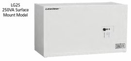 Hubbell LG2S Compact Central Lighting Inverters (250 VA/W Wall surface mount)