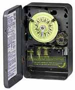 INTERMATIC T171 24Hr Dial with 7day Skipper  Indoor Mechanical Timer, 120 Volt Time Switch Single-Pole