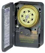 INTERMATIC T2006 7 Days Mechanical Timer, 208-277 Volt