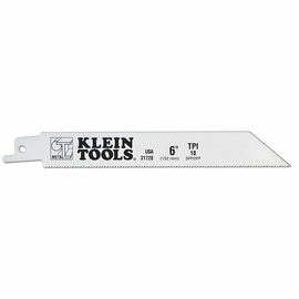 Klein Tools 31728 6'' Saw Blade 18 TPI for Heavy Metals