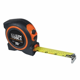 Klein Tools 93125 25' Magnetic Single Hook Tape Measure
