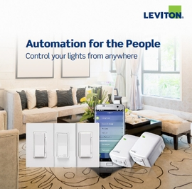 Leviton Decora Smart with Wi-Fi Technology
