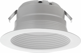 "Lithonia 4BEMW LED 27K 4"" Baffle LED Module,2700K,90CRI,9.77W,600L,Matte White"
