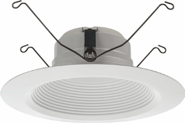 "Lithonia 65BEMW LED 27K 5""/ 6"" Baffle LED Module,2700K,93CRI,10.3W,650L,Matte White"
