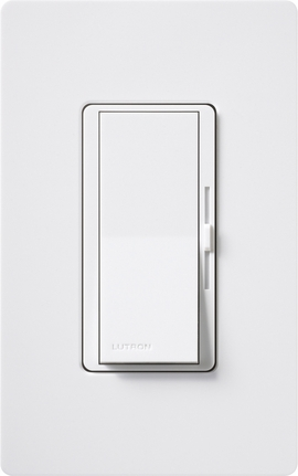 LUTRON Diva DVCL-153P Single Pole/3-Way Compact Fluorescent and LED Dimmer (Gloss Color)