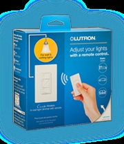 Lutron P-PKG1W-WH Caseta Wireless In-Wall Dimmer w/Pico Remote Kit
